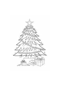Ausmalbild Weihnachtsbaum Mit Geschenken Ausmalbilder Zu Weihnachten Weihnachtsmann Nikolaus Und