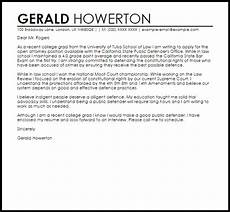 Cover Letters For College Graduates Recent College Grad S Cover Letter Sample Cover Letter