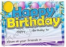 Free Printable Birthday Certificates Printable Birthday Certificate