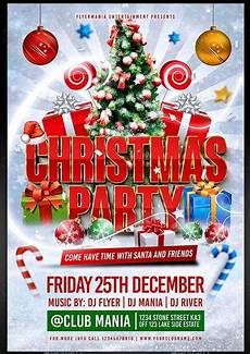 Work Christmas Party Flyer 35 Best Psd Event Flyer Templates Designmaz
