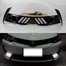 Corolla 2017 Fog Lights July King Led Light Guide Daytime Running Lights Case For