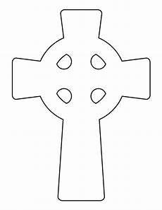 Celtic Cross Design Templates Printable Celtic Cross Template