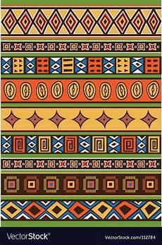 Afrikanische Muster Malvorlagen Xing Pattern Royalty Free Vector Image Vectorstock
