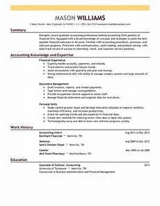 Accountant Resume Sample Best Accounting Clerk Resume Example Livecareer