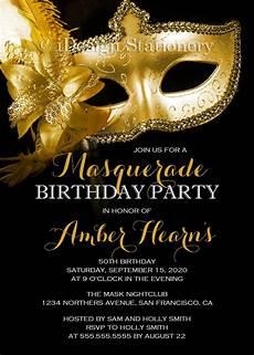 Masquerade Invitation Sample 19 Masquerade Ball Birthday Invitation Designs And