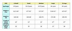 Soccer Shin Guard Size Chart Field Hockey Shinguards