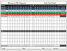 Tournament Spreadsheet Template Golf Tournament Excel Spreadsheet Printable Spreadshee