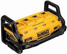Dewalt Battery Charger Light Fast Review Dewalt Portable Power Station Is A Cordless