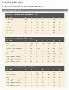 Ted Baker Shoe Size Chart Ted Baker Size Guide