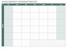 Blank School Calendar Free Blank Calendar Templates Smartsheet