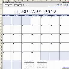 Templates By Vertex42 Com Download The Monthly Calendar From Vertex42 Com Free