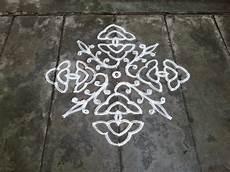 3 Pulli Kolam Designs Rangoli Designs Kolam Easy Kolam