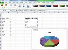Create Pie Chart In Excel Excel Create Pie Chart From Single Column My Geeks
