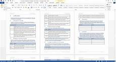 Word Templets Concept Of Operations Template Ms Word Templates