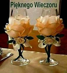 bicchieri decorati bicchieri e calici decorati centrotavola nuziale