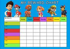 Free Printable Potty Chart Paw Patrol Paw Patrol Re Usable Reward Chart Including Free Star