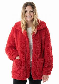cozy coats cozy faux sherpa jacket womens faux shearling jackets
