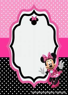 Minnie Mouse Invitation Template Free Free Minnie Mouse Birthday Invitation Templates Editable