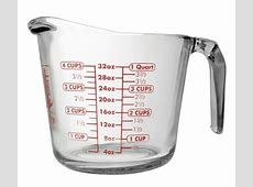 4 Cup Heatproof Glass Measuring Cup   Kitchenworks Inc