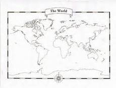 Free Printable Blank World Map Printable World Map Kids School Pinterest Social