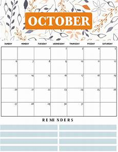 October Calendar Printable October Calendar For 2019 With Holidays Net