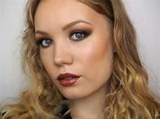 makeup fall fall makeup tutorial using vice 4 burnt orange smokey eye