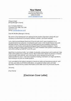 Electrician Apprentice Cover Letters Electrician Cover Letter Template 100 Cover Letter Samples