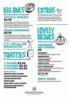 Breakfast Menu Layout Breakfast Menu Design Illustration Bar Design
