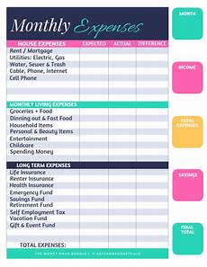 Spending Template 15 Free Budget Templates That Will Help Pay Down Debt Fast