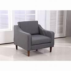 homcom sofa single arm chair armrest seat linen