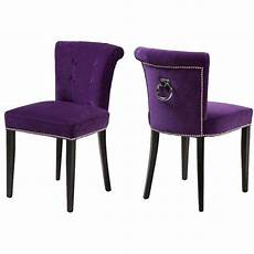 Purple Dining Room Chairs 17 Best Images About Dining Chairs On Purple