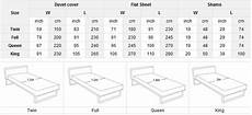 Standard Bed Sizes Chart 8 Best Images Of Standard Measurements Chart How To Read