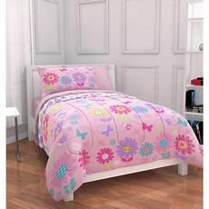 mainstays floral bed in a bag bedding set