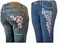 Trinity Ranch Jeans Size Chart Montana West Sz 13 Jn Tr001 Stretchy Denim Trinity Ranch