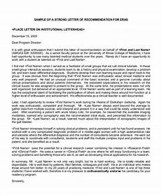 Aamc Recommendation Letter Free 59 Reference Letter Templates In Pdf Ms Word