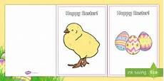 easter card template ks1 easter card templates