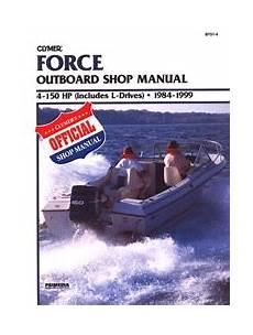 Force Outboard Engine Repair Manual Free Shipping