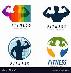 Fitness Logo Design Gym Logo Design Template Health Or Fitness Vector Image
