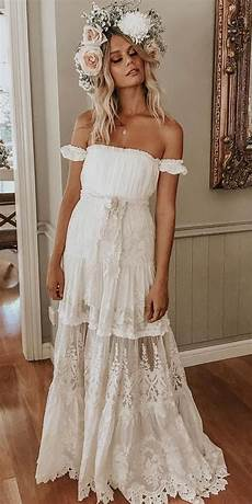 30 tempting bohemian wedding dresses you can t say no to
