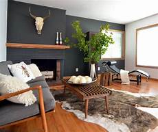 Back To Back Fireplace Design Bold Black Fireplaces Bright Green Door
