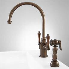 One Kitchen Faucet Aiken Single Kitchen Faucet With Side Spray Kitchen