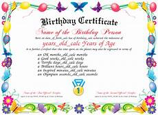 Free Printable Birthday Certificates Certificate Creator Certificate Maker Certificate