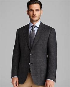 sporty coats canali houndstooth sport coat regular fit in gray for