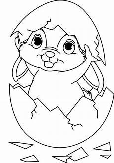 Malvorlagen Zum Ausdrucken Weihnachten Ostern Ostern Osterhase Schl 252 Pft Aus Einem Ei Zum Ausmalen