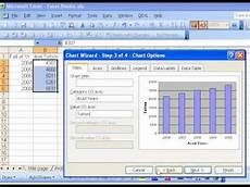 Excel 2013 Chart Wizard Excel Basics 3 Chart Wizard Youtube