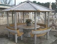 panchine in legno da giardino gazebo effetto legno con tavolo panchine e fioriere arredo