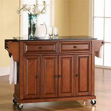 kitchen islands with granite tops darby home co pottstown kitchen island with granite top