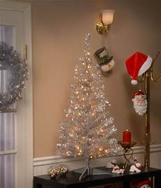 Christmas Tree Lights Best Price 20 Best Silver Christmas Trees In Every Style And Price