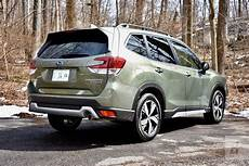 the 2019 subaru forester 2019 subaru forester touring review spacious above all