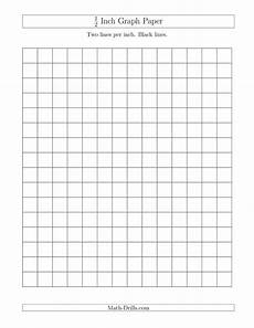 1 Inch Grid Paper Pdf 1 2 Inch Graph Paper With Black Lines A Graph Paper